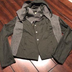 Hooded Light Weight Utility Jacket